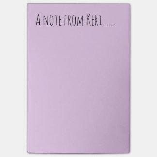 Bloco Post-it Nota de Keri