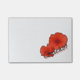 Bloco Post-it Notas PostIt® 10,2 x 7,6 cm Papoila