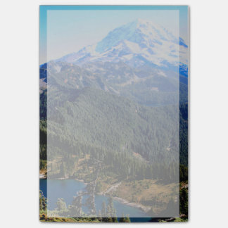 Bloco Post-it O Monte Rainier Washington