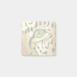 Bloco Post-it O olho do leopardo (arte de Kimberly Turnbull)