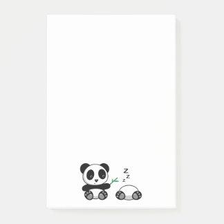 Bloco Post-it Pandas pequenas bonitos