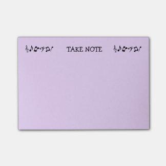 Bloco Post-it Personalizado tome notas de post-it da nota
