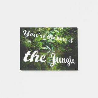 Bloco Post-it Rei da selva