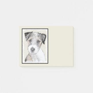 Bloco Post-it Russell Terrier (áspero)