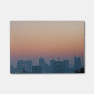 Bloco Post-it Skyline de Nashville