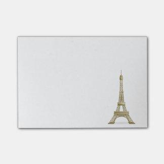 Bloco Post-it Torre Eiffel, clipart de France