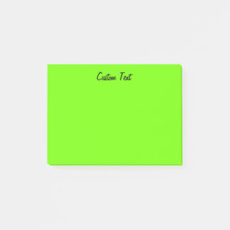 Bloco Post-it Verde simples