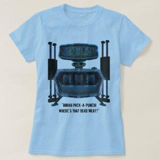 Bloco-um-Perfurador w/Quote (mulheres) Camiseta