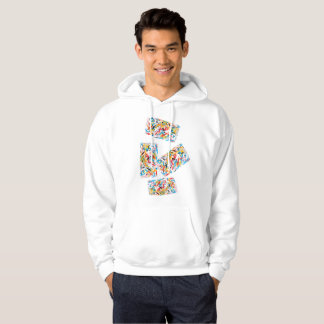 Blocos de apartamentos de hoodie da positividade moletom