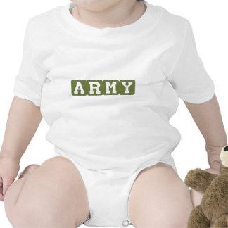 Blocos do exército (verde) babadores