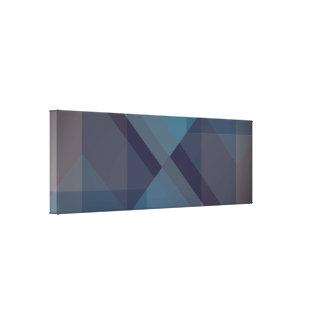 Blocos geométricos modernos, impressão das canvas