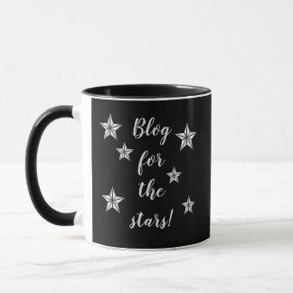 Blogue para as estrelas! Caneca