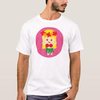 BlondeHulaGirl5 Camiseta
