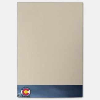 Bloquinho De Notas Bandeira da circular de Colorado
