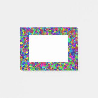 Bloquinho De Notas Confetes - coloridos