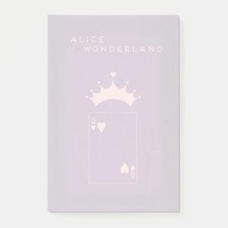 Bloquinho De Notas Contos de fadas minimalistas | Alice no país das