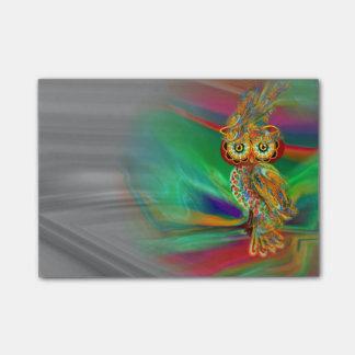 Bloquinho De Notas Coruja tropical da rainha da forma