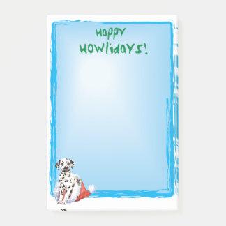 Bloquinho De Notas Dalmatian feliz de Howlidays