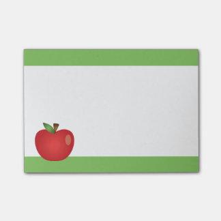 Bloquinho De Notas Desenhos animados vermelhos Apple