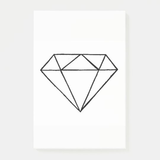 Bloquinho De Notas Diamante post it