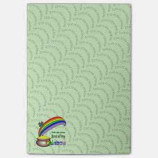 Bloquinho De Notas Extremidade do arco-íris