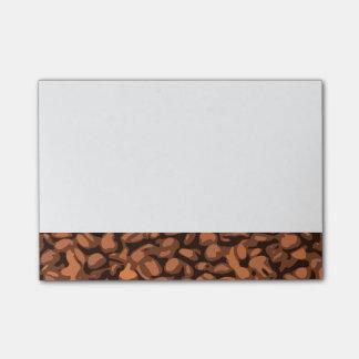 Bloquinho De Notas Feijão de café moderno