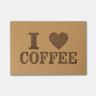 Bloquinho De Notas Feijões de café do coração