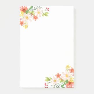 Bloquinho De Notas Flores do primavera