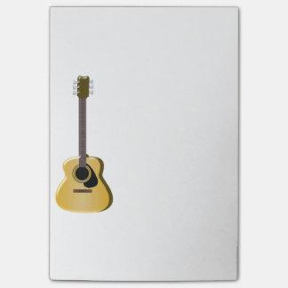 Bloquinho De Notas Guitarra acústica