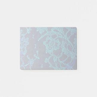Bloquinho De Notas Laço gótico dos azuis marinhos do Victorian