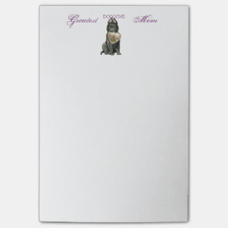 Bloquinho De Notas Mamã belga do coração do Sheepdog