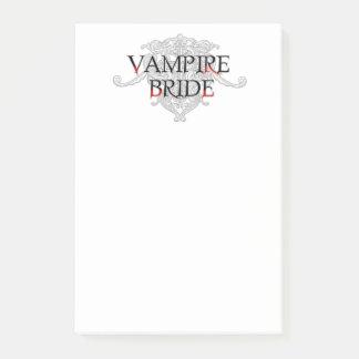 Bloquinho De Notas Noiva do vampiro