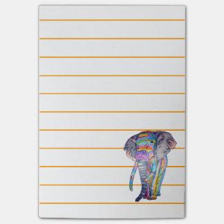 Bloquinho De Notas Notas de post-it de Rainbowphant