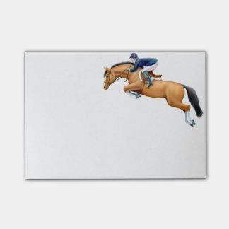 Bloquinho De Notas Notas de post-it do cavalo da ligação em ponte da