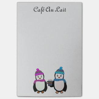 Bloquinho De Notas Notas do Cargo-it® dos amigos do pinguim