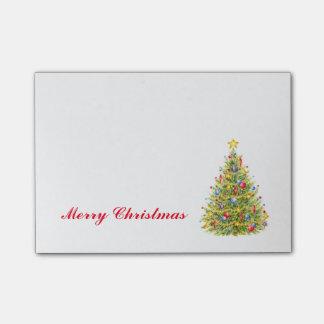 Bloquinho De Notas O Natal acolchoa a árvore do feriado das notas de