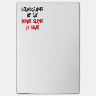 Bloquinho De Notas Oceanographer do assassino do zombi