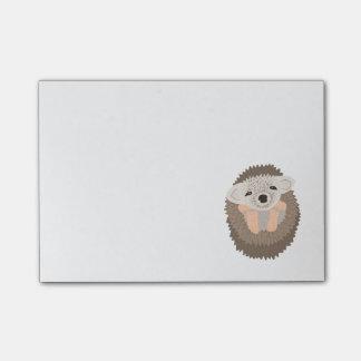 Bloquinho De Notas Ouriço bonito do pigmeu