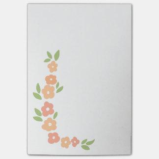 Bloquinho De Notas Post-it da festão da flor