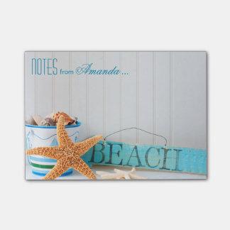 Bloquinho De Notas Praia da estrela do mar personalizada