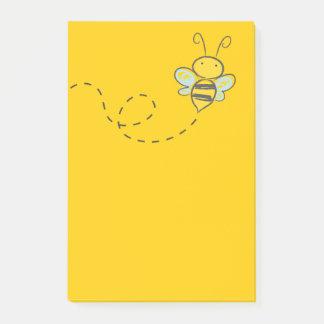 Bloquinho De Notas Vôo bonito da abelha