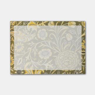 Bloquinho De Notas William Morris o design de Cherwell para o