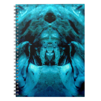 blue dämon caderno espiral
