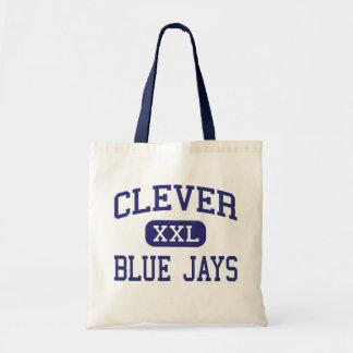 Blue Jays inteligente Missouri inteligente médio Bolsas De Lona