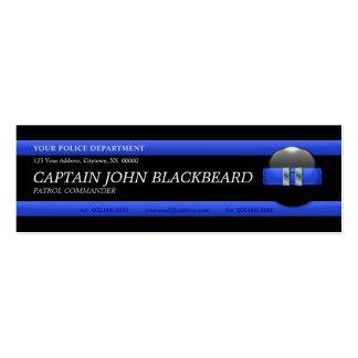 Blue Line fino Captain o cartão de visita de