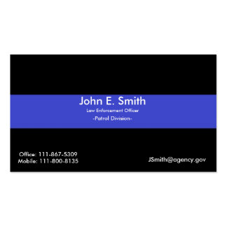 Blue Line fino/cartão de visita bandeira americana Cartão De Visita