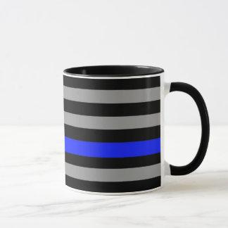 Blue Line fino embandeira a caneca de café