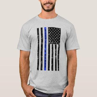 Blue Line fino - respeite e honre a camisa dos