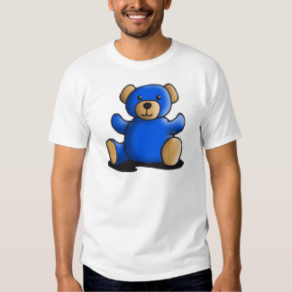 Blue teddy bear t-shirt