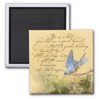 Bluebird no ramo & nas citações de Victor Hugo Ima